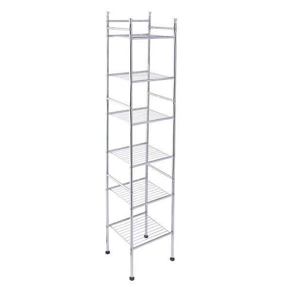 12.6 W x 59.84 H Bathroom Shelf by Honey Can Do