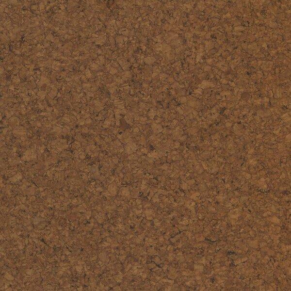 12 Cork Hardwood Flooring in Amor Brown by APC Cork