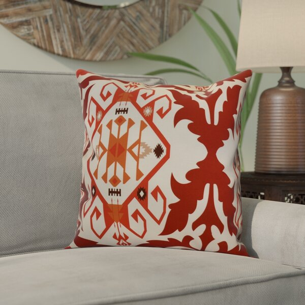 Soluri 6 Geometric Throw Pillow by Bungalow Rose
