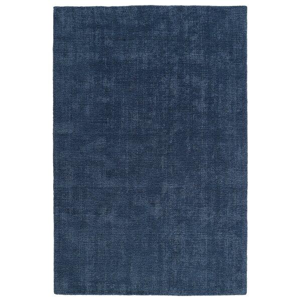 Allibert Hand-Loomed Blue Indoor/Outdoor Area Rug by Zipcode Design