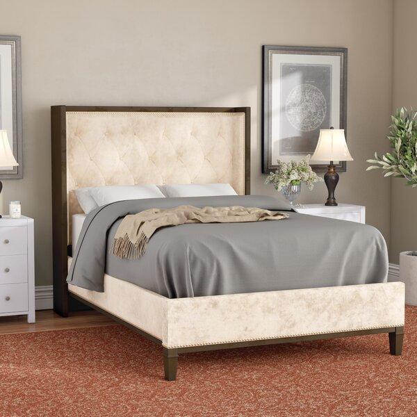 Lizette Upholstered Standard Bed by Rosdorf Park