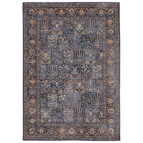 Rosana Blue/Gray Area Rug by Bloomsbury Market