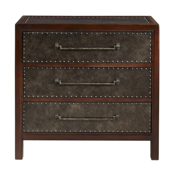 Maher 3 Drawer Accent Chest by 17 Stories