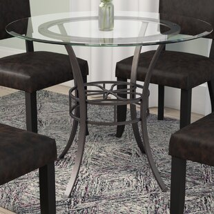 Glass Kitchen Dining Tables Youll Love Wayfair - Wayfair white table and chairs