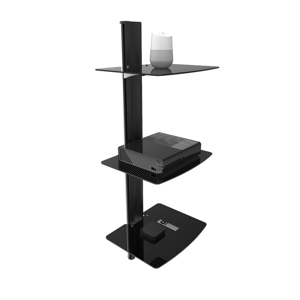 Wall Mounted AV Shelf by Kanto