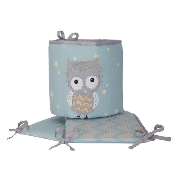 Night Owl 4 Piece Crib Bumper by Happi by Dena