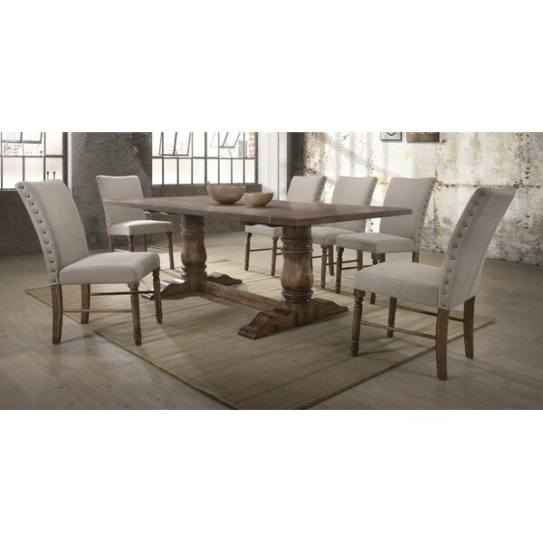 Dement 7 Pieces Dining Set by Gracie Oaks