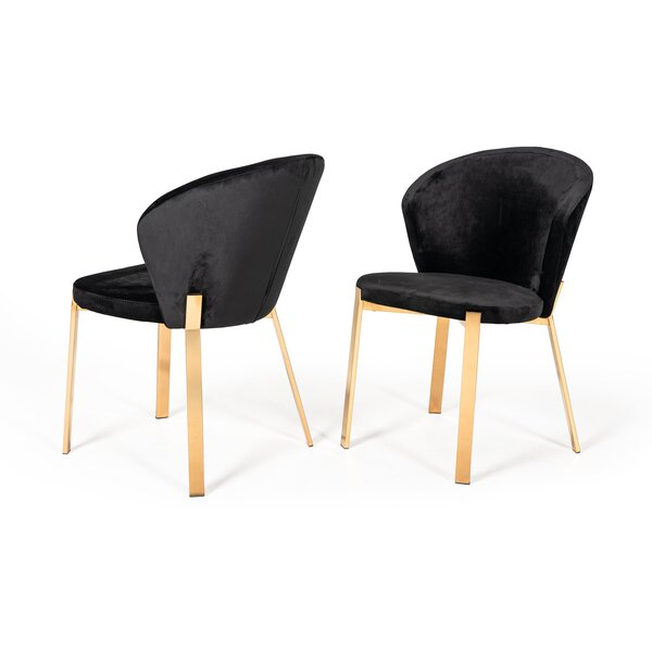 Chorleywood Upholstered Dining Chair (Set of 2) by Everly Quinn
