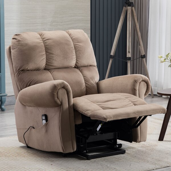 Power Reclining with Thermotherapy Adjustable Width Heated Full Body Massage Chair W003409708