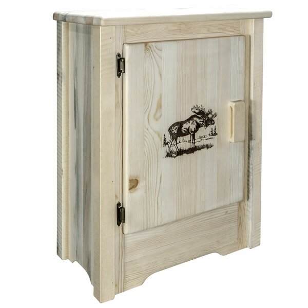 Abella 1 Door Accent Cabinet by Loon Peak