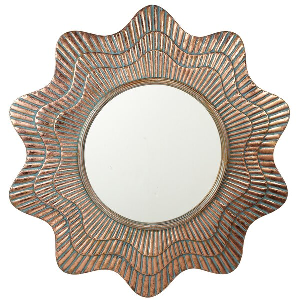 Winton Ribbed Wall Mirror by Rosecliff Heights