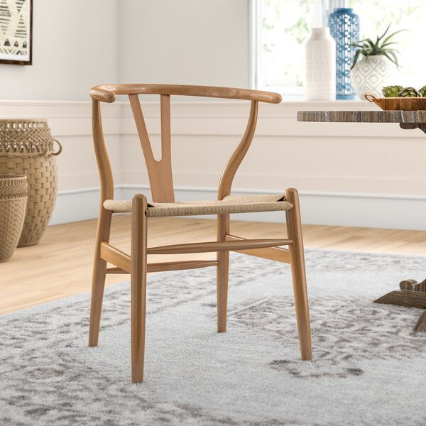 Dayanara Solid Wood Dining Chair by Mistana