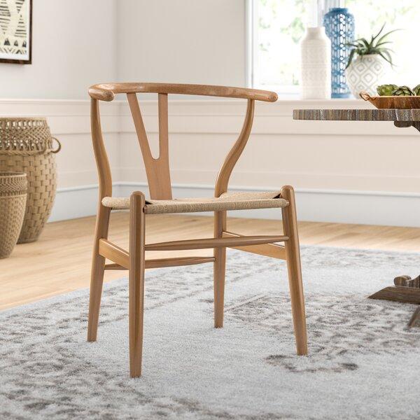 Dayanara Solid Wood Dining Chair By Mistana Mistana
