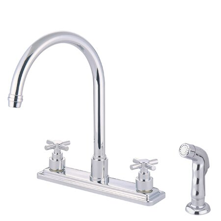 Tampa Double Handle Kitchen Faucet by Elements of Design