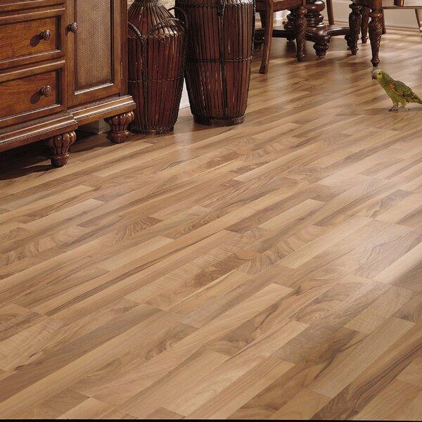 Bastian 8 x 51 x 8mm Walnut Laminate Flooring in Natural by Serradon