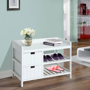 Shoe Storage Bench by Charlton Home