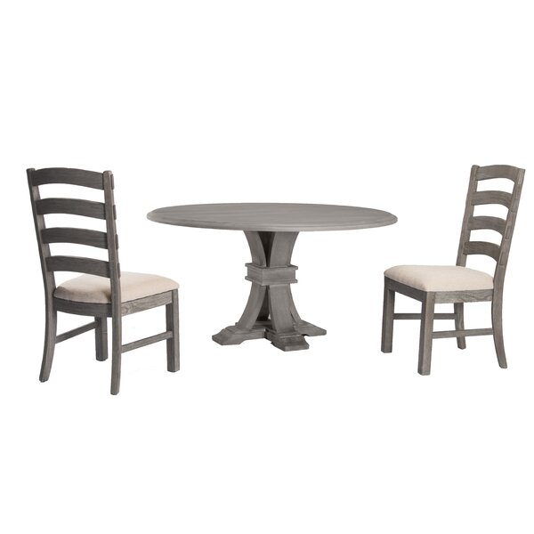Serafina 3 Piece Dining Set by One Allium Way