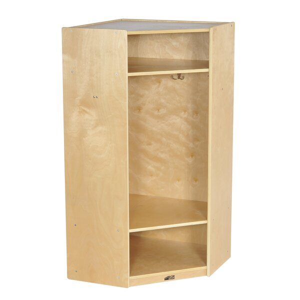 3 Tier 1 Wide Coat Locker by ECR4kids