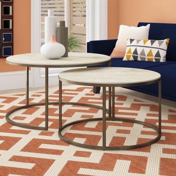 Antonio 2 Piece Coffee Table Set