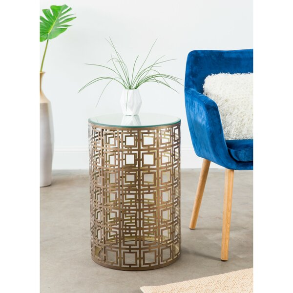 Lauzon End Table By Everly Quinn