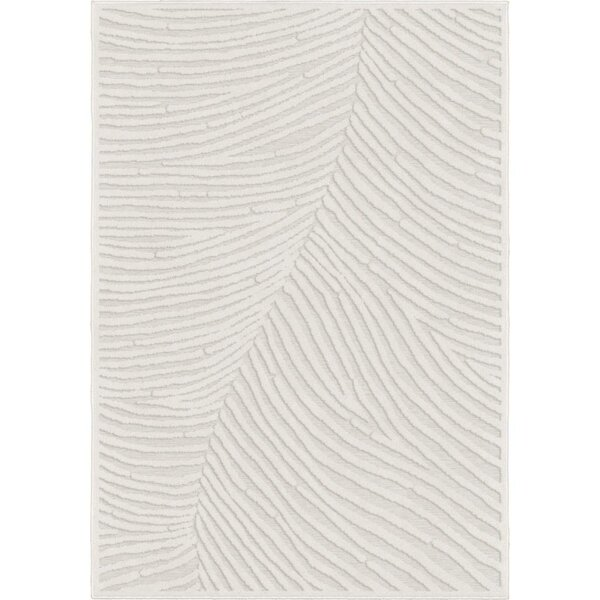 Comerfo Ivory Indoor/Outdoor Area Rug by Bay Isle Home
