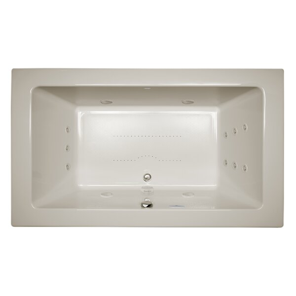 Sia Salon Chroma Right-Hand 66 L x 36 W Drop In Salon Bathtub by Jacuzzi®