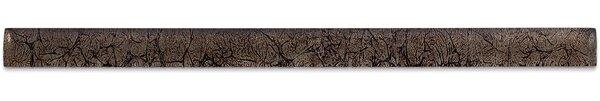 0.75 x 12 Glass Pencil Liner Tile in Rust by Splashback Tile