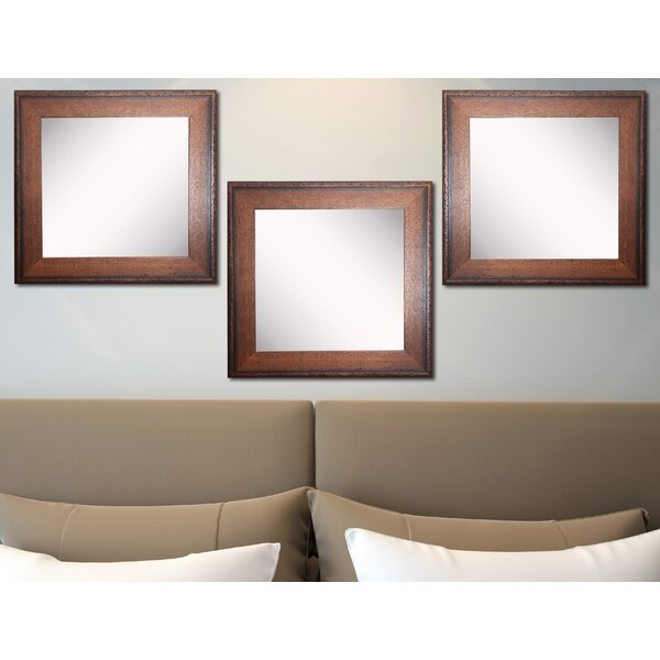 Truex Wall Mirror (Set of 3) by Millwood Pines