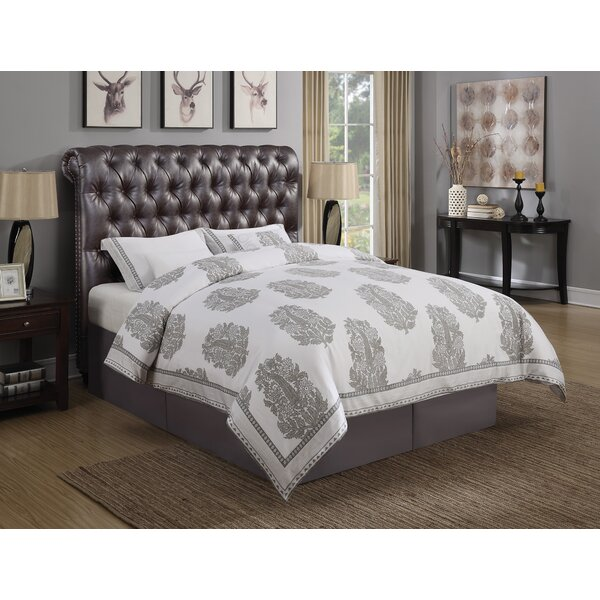 Jarratt Upholstered Panel Bed by Greyleigh