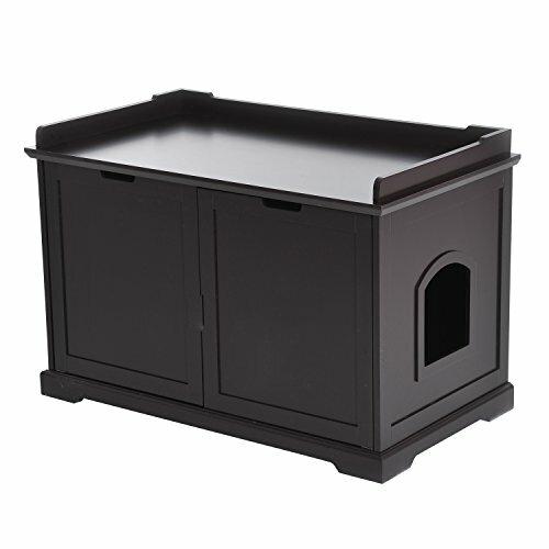Elmira Cat Storage Litter Box Enclosure by Tucker Murphy Pet