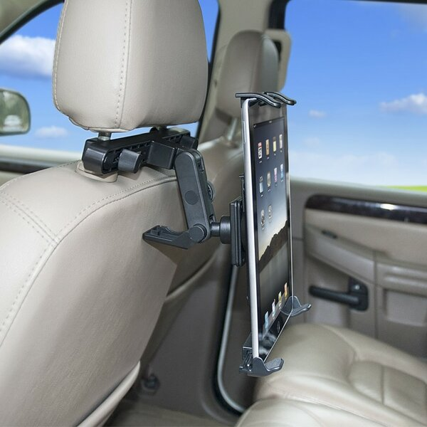 Headrest Tablet and iPad Mounting System by Bracke