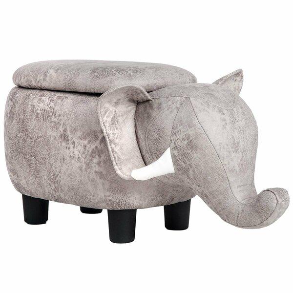 Renshaw Elephant Storage Ottoman by World Menagerie