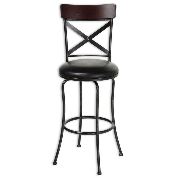 Pottersmoor 30 Swivel Bar Stool (Set of 2) by Red Barrel Studio