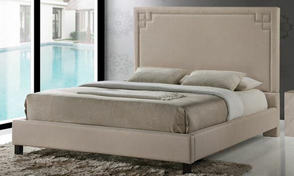 Kaplan Upholstered Panel Bed by Mercer41