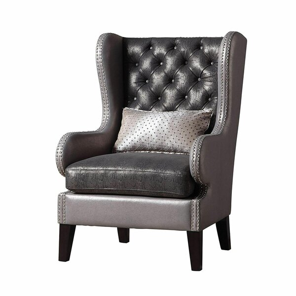 Lococo Wingback Chair by Rosdorf Park