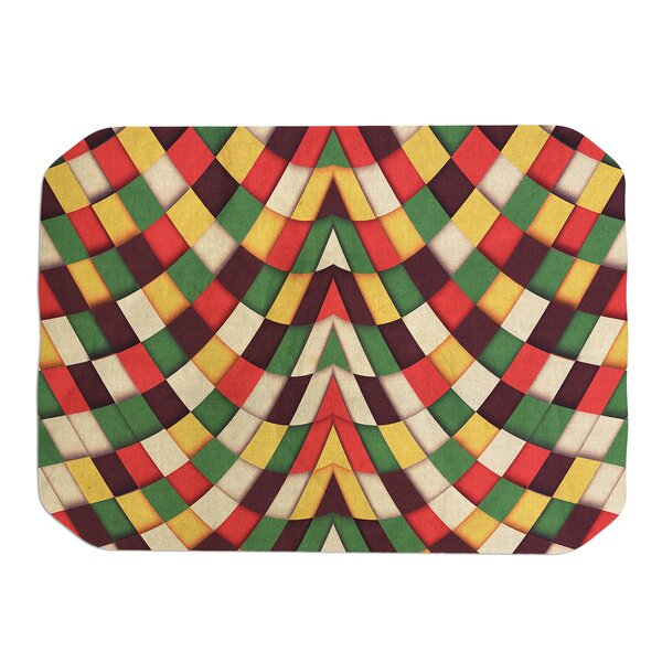 Danny Ivan Rastafarian Tile Placemat by East Urban Home