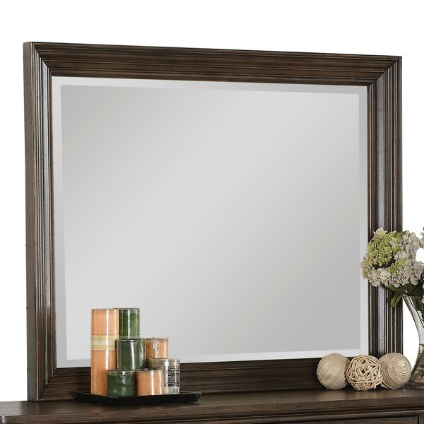 Nesbitt Rectangular Dresser Mirror by Three Posts