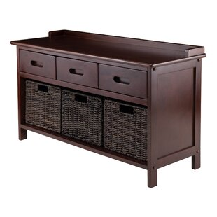 Where buy  Duncan 4 Piece Storage Bench By Three Posts