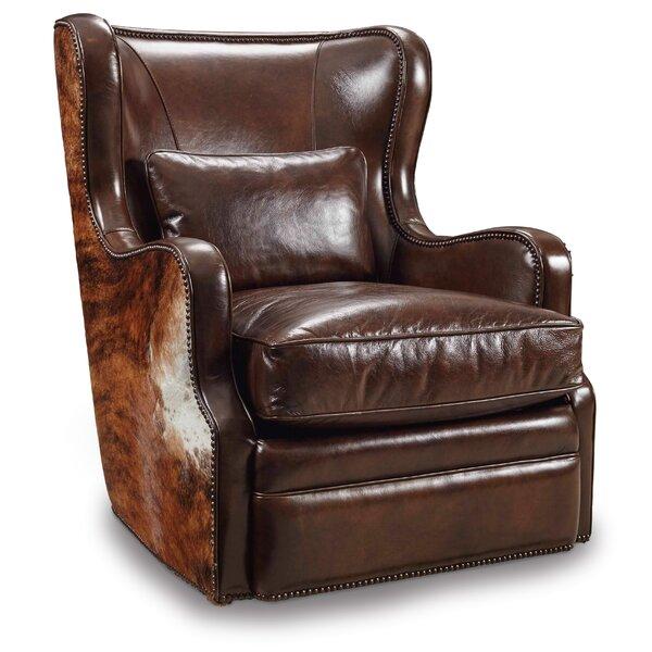 Wellington Swivel Wingback Chair By Hooker Furniture