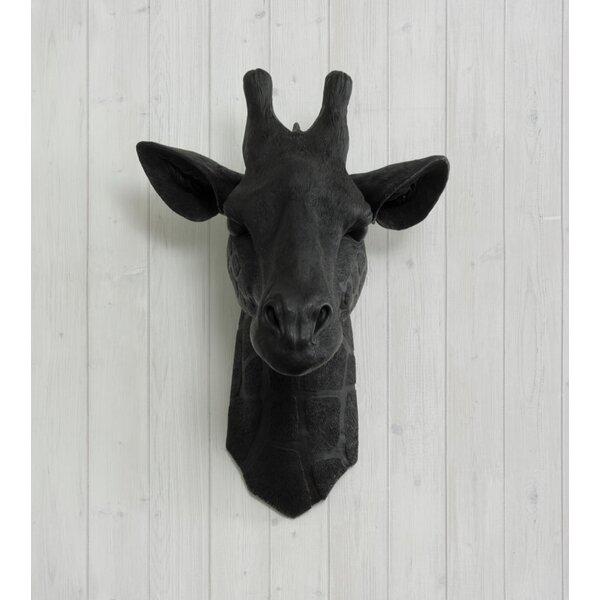 Zimbabwe Faux Giraffe Head Wall Décor by Wall Charmers