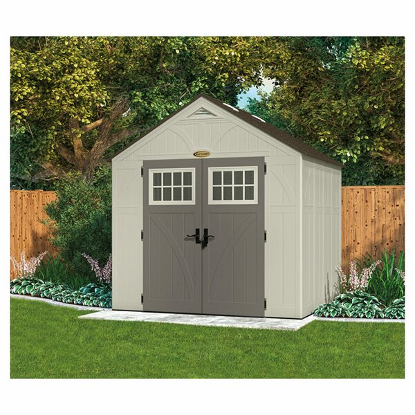 Tremont 8 ft. 5 in. W x 10 ft. 2 in. D Plastic Storage Shed by Suncast