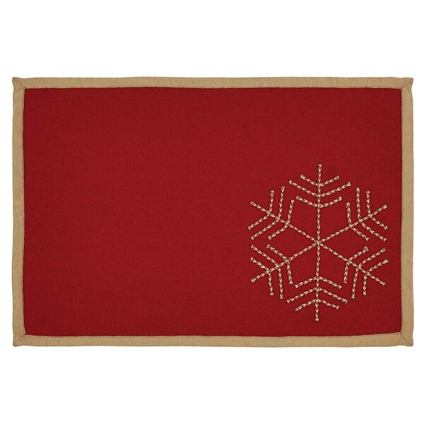 Revelry Placemat (Set of 6) by The Holiday Aisle