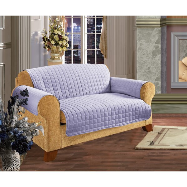 Leaf Furniture Protector Box Cushion Loveseat Slipcover By Charlton Home