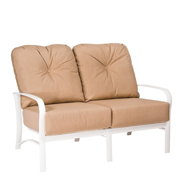 Fremont Loveseat with Cushions by Woodard