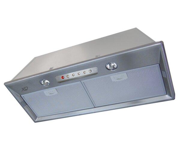 28 Fabriano 350 CFM Convertible Insert Range Hood by XO Ventilation