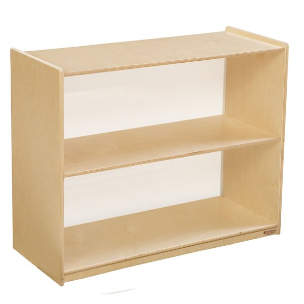Brys Acrylic Back Standard Bookcase by Red Barrel Studio