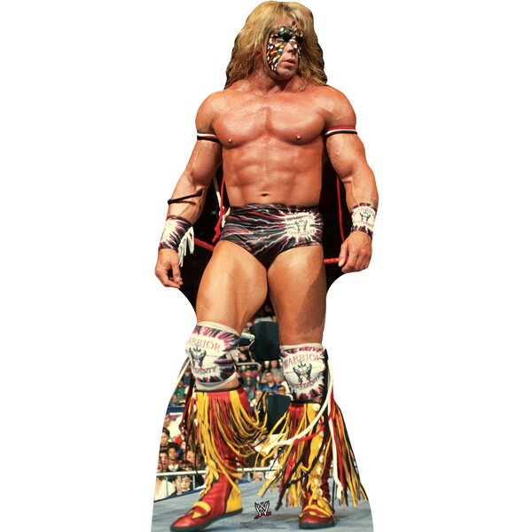 Ultimate Warrior - WWE Cardboard Standup by Advanced Graphics