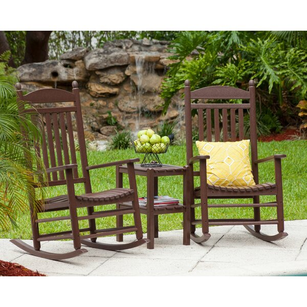 Jefferson 3 Piece Conversation Set by POLYWOOD®