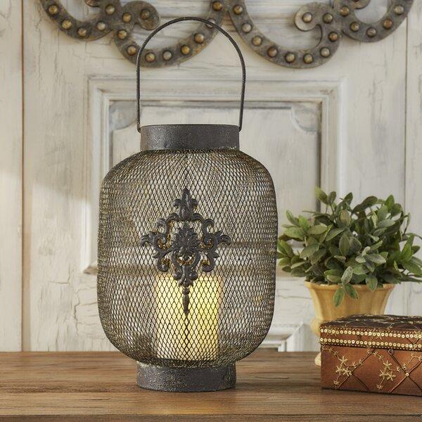 Phalangere Metal Lantern by Lark Manor