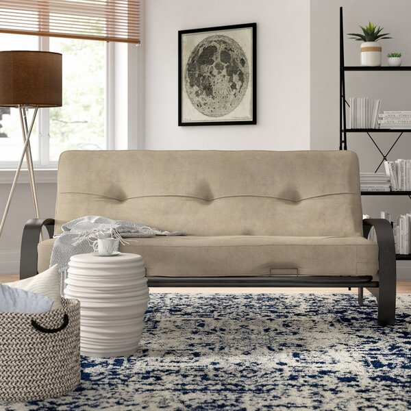 Makenzie Futon and Mattress by Latitude Run